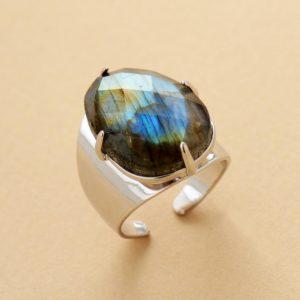 Hand Made Labradorite Ring