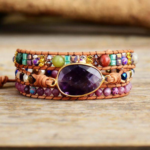 Fancy Art Bohemian wrap Bracelet