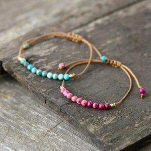 Forever Friendship Jasper beads Bracelet
