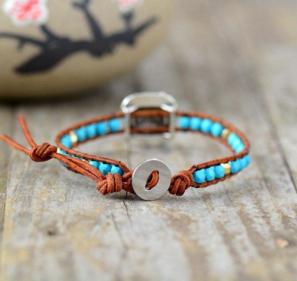 Turquoise Vintage Friendship Bracelet