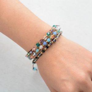 Gold Crystals Friendship Bracelets