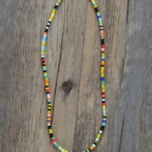 Sierra Colorful Seed Beads Necklace