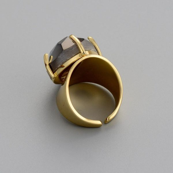 Hand Made Agate stone Ring