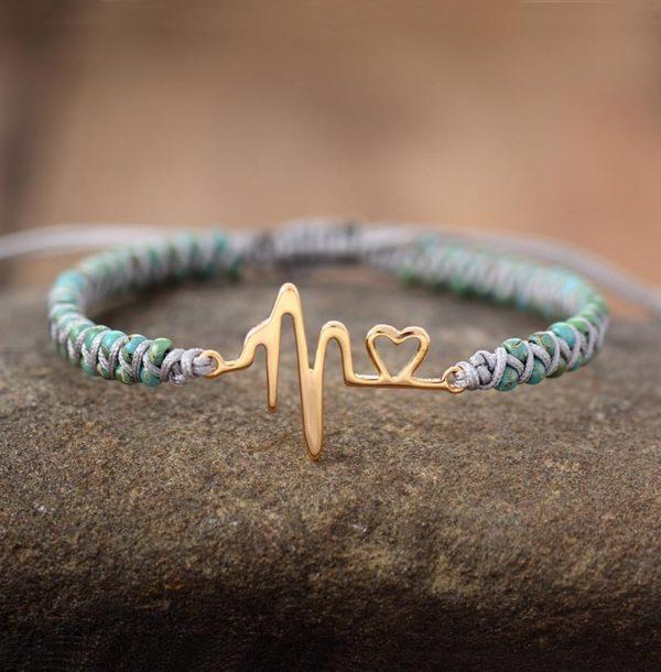 Life line Beaded Bracelet
