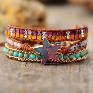 Star Charm Hippie Bracelet