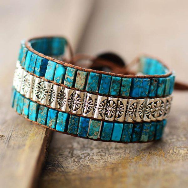 Sea Magic Blue Stone Bracelet