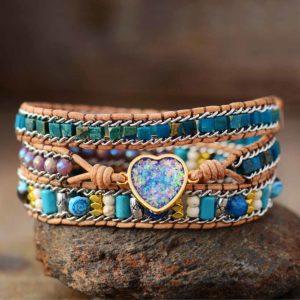 Opal Wrap Bracelet