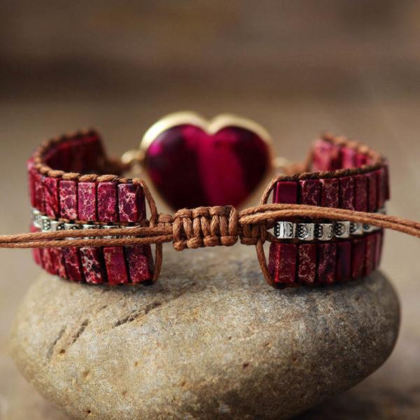 Pure Love Heart Wrap Bracelet