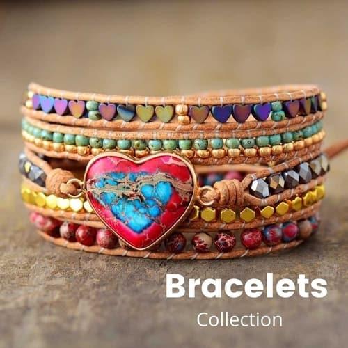Bohemian Bracelets Collection | Treasure Jewelry