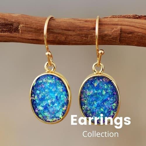 Bohemian Earrings Collection | Treasure Jewelry