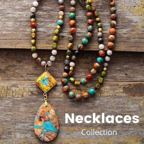 Beaded Necklaces Collection | Treasure Jewelry