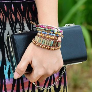 Boho-Bracelet-Unique-Tube-Shape-Natural-Stone-3-Layers-Leather-Wrap-Bracelets-Bohemian-Women-Statement-Bracelet-2